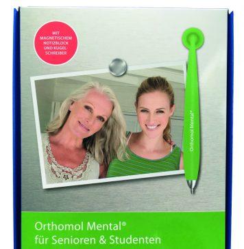 Das praktische Sticky Jam-Schreibset von Orthomol Mental®. Bildquelle: 59plus