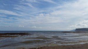 The Ledge/ Foreland Beach in Bembridge - ein verstecktes Juwel am östlichen Zipfel der Insel. Bildquelle: Nadine Schuster