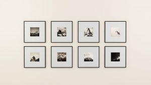 Nur mit neuen Bilderrahmen kann man schon ein völlig neues Wohnegefühl schaffen. Bildquelle: Pixabay.de