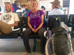 Gitti Müller reiste mit dem Rucksack durch Südamerika. Bildquelle: Gitti Müller