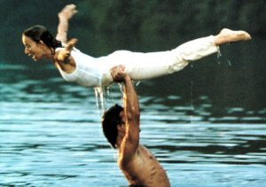 Jennifer Grey und Patrick Swayze in 'Dirty Dancing' - 1987 PATRICK SWAYZE Quelle: Apollo-Film, Photo by Everett/REX/Shutterstock (432873aj)