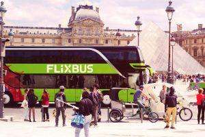 Mit dem Flixbus für kleines Geld in die schönsten Städte Europas. Günstige Busreisen sind wieder sehr populär. Bildquelle: FlixMobility GmbH