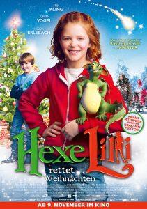 Hexe_Lilli_rettet_Weihnachten_Hauptplakat. Quelle: © 2012 UNIVERSUM FILM GMBH - ALLE RECHTE VORBEHALTEN.