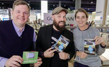 """Tim Boltz startet mit seinem neuen Buch """"Fernverkehr"""" durch. Bildquelle: 59plus GmbH"""