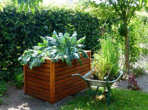 Hochbeete können die Gartenarbeit deutlich erleichtern. Bildquelle: Pixabay.de