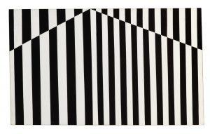 Carmen Herrera, Verticals 1952, Acryl auf leinwand, Privatsammlung Portugal Bildquelle: ©Kunstsammlung NRW