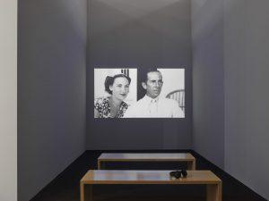 """Installationansicht der Ausstellung """"Carmen Herrera. Lines of Sight"""". Bildquelle: Achim Kukulies ©Carmen Herrera ©Kunstsammlung NRW"""