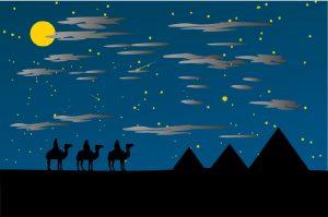 """Am 06. Januar feiern wir bundesweit das fest der """"Heiligen Drei Könige"""". Bildquelle: Pixabay.de"""