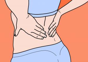 Der Rücken schmerzt! Die richtige Art zu sitzen kann hier für Abhilfe sorgen. Bildquelle: Pixabay.de
