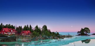 Mitten in der Natur Urlaub machen. In Schweden kein Problem. Bildquelle: shutterstock.com