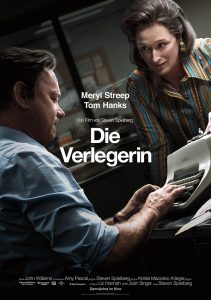 Die Verlegerin Hauptplakat. Quelle: © Universal Pictures International Germany GmbH