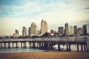 Großstadtflair und Strandatmosphäre - San Diego hat beides zu bieten. Bildquelle: shutterstock.com