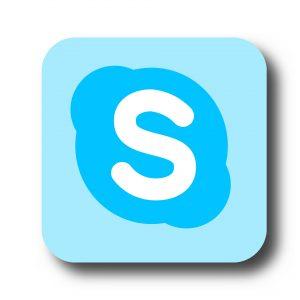Genauso wie Facebook oder Twitter hat Skype ein sog. eigenes Icon. Bildquelle: Pixabay.de