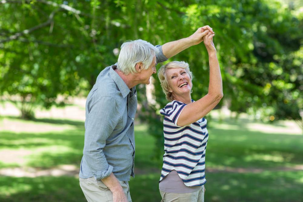Pure Lebensfreude ist ebenfalls ein wertvolles Anti-Aging Rezept. Bildquelle: © Shutterstock.com