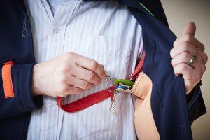 Der Schlüssellink macht ein Verlieren des Schlüssels nahezu unmöglich. Bildquelle: 59plus GmbH by ©BineBellmann