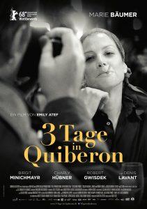 3 TAGE IN QUIBERON. Quelle: © 2018 PROKINO Filmverleih GmbH
