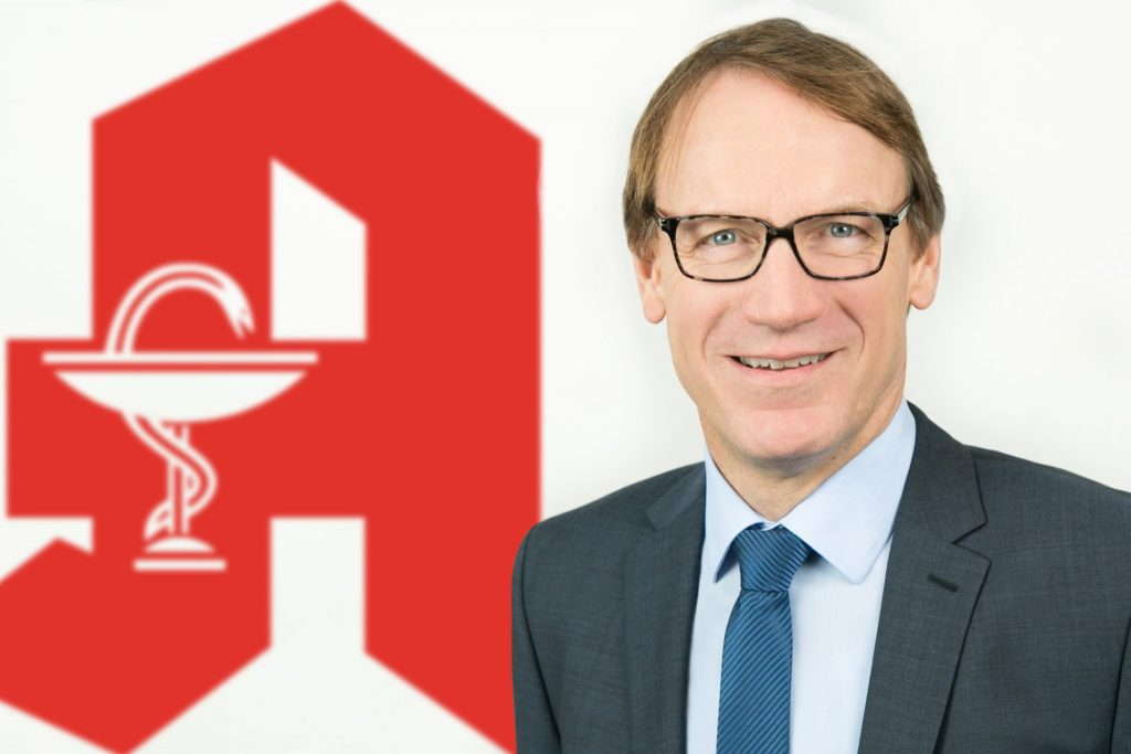 Thomas Preis ist selbst Apotheker und Vorsitzender vom Apothekerverband Nodrhein e. V.. Bildquelle: Apothekerverband Nordrhein e. V.