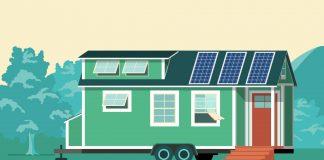 """""""Tiny Houses"""" sind ein Wohntrend in den USA und könnten sicherlich auch hier bald sehr populär werden. Bildquelle: shutterstock.com"""