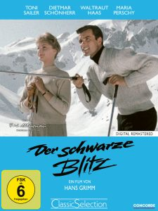 Ski-Star Toni Sailer als Michael Kirchner in der schwarze Blitz. Bildquelle: Concorde Home Entertainment