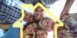 Das Mehrgenerationenhaus als sinnvolle Wohnalternative im Alter. Bildquelle: shuterstock.com