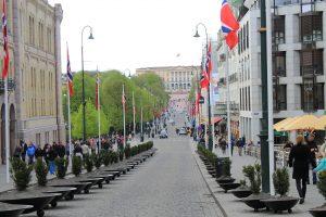 Ein absolutes Muss in Oslo: Einmal den Karl Johans Gate rauf und runter flanieren. Bildquelle: Pixabay.de