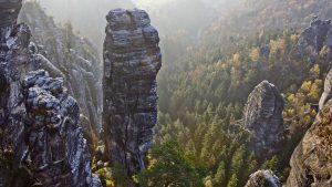 Beeindruckend durch seine außergewöhnlichen Felsformationen - die Sächsische Schweiz. Bildquelle: Pixabay.de