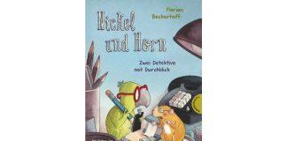 Nickel und Horn machen sich in ihrem ersten Fall auf die Suche nach einem gestohlenen Pupstier. Bildquelle: Thienemann-Esslinger Verlag