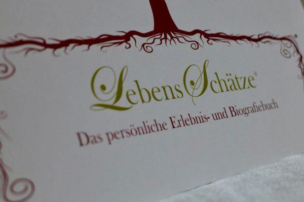 Das Buch LebensSchätze unterstützt auf wunderbare Art und Weise die eigene Biographiearbeit. Bildquelle: 59plus GmbH