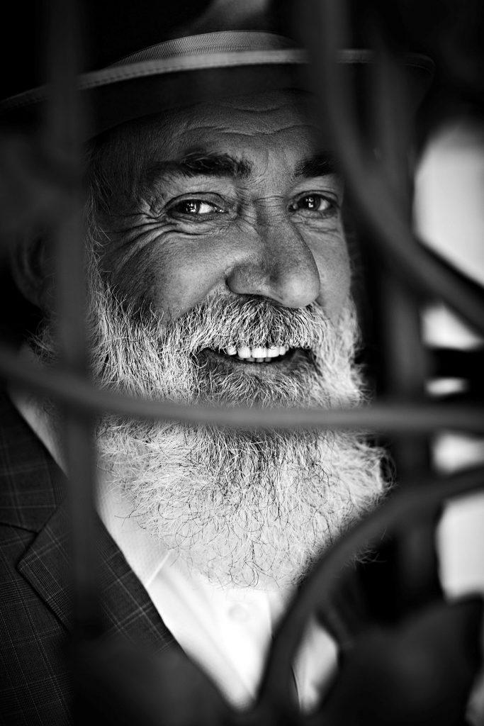 Sein verschmitztes Lächeln und der Bart sind das Markenzeichen von Heino. Bildquelle: © Frank Wartenberg