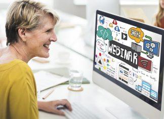 Mangelnde Mobilität ist heute kein Argument mehr. Mit einem Webinar können Sie sich problemlos auch zuhause weiterbilden. Bildquelle: shutterstock.com