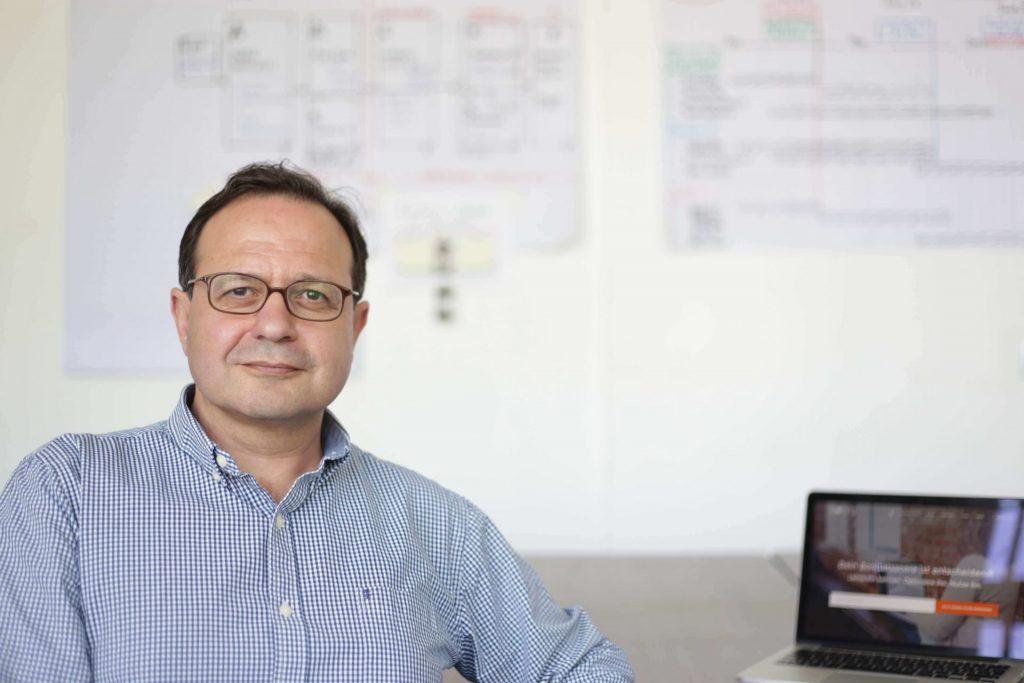 Zahlen sind seine Leidenschaft. Dr. Gamal Moukabary - Gründer. Bildquelle: Forteil GmbH