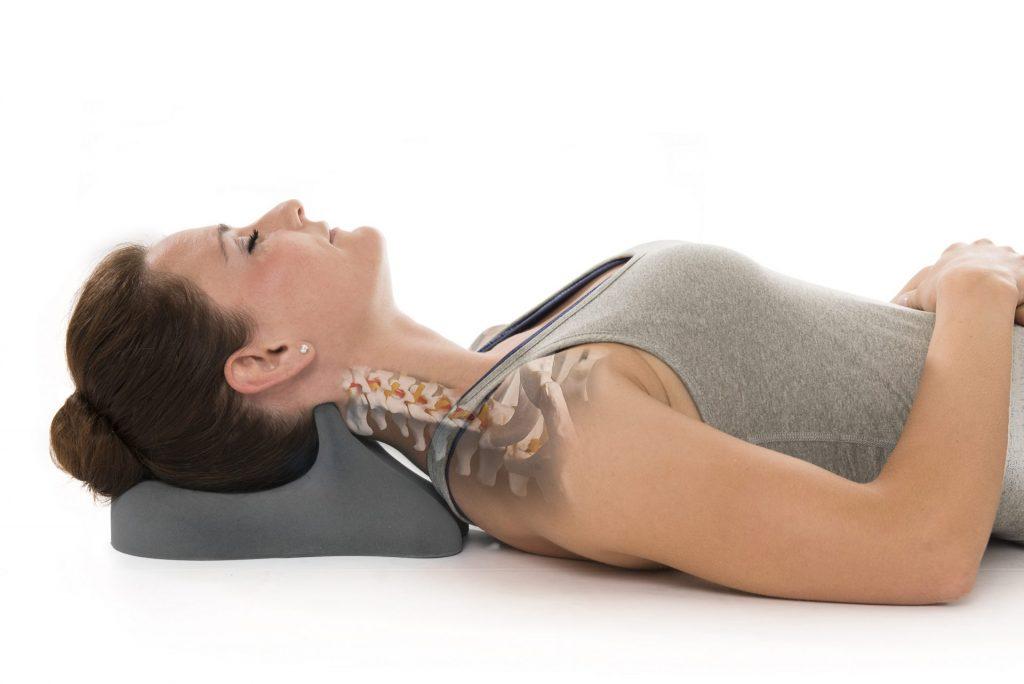 Verspannungen zuhause aktiv entgegen wirken mit der Therapieunterlage Cranibas von ARTZT