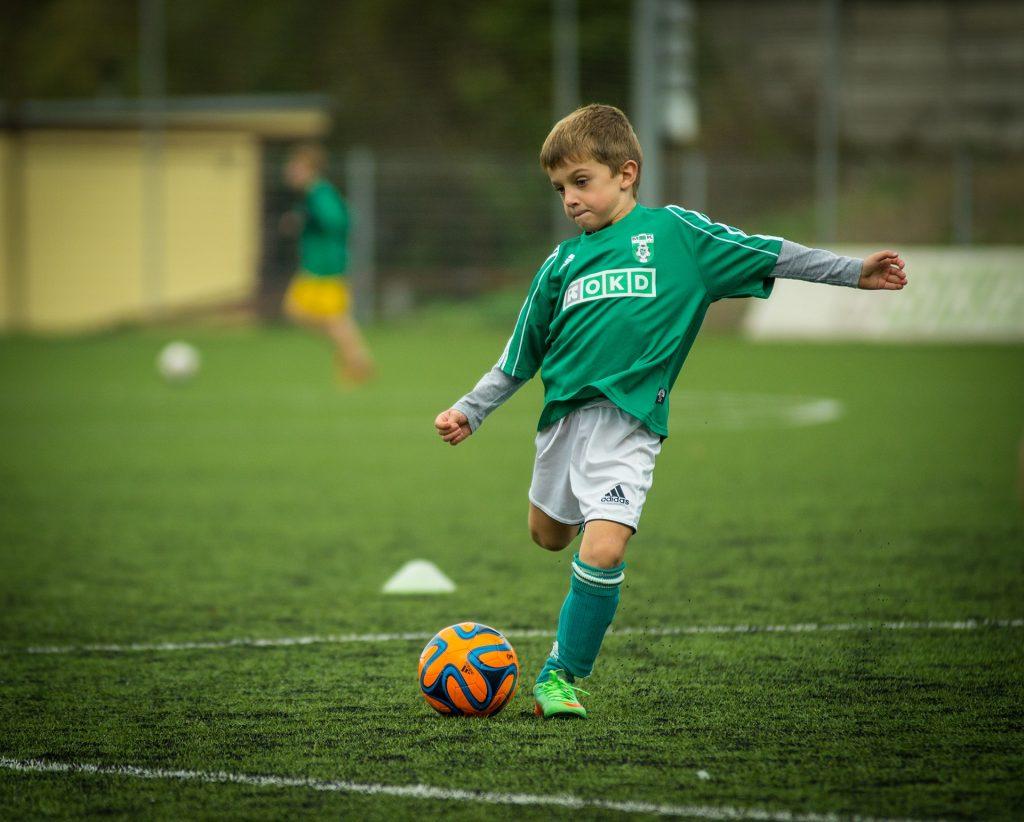 Fußball ist für viele Kinder die absolute Traumsportart. Bildquelle: Pixabay.de