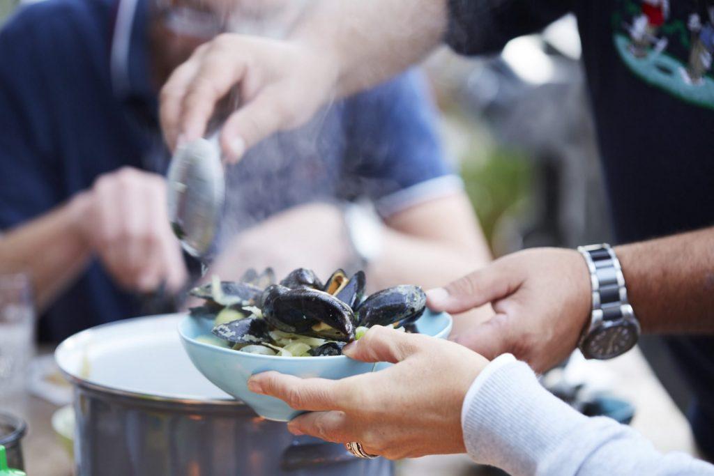 Vor allem saisonale Köstlichkeiten eignen sich vervorragend für ein gemeinsames Kochevent. Bildquelle: © Bine Bellmann