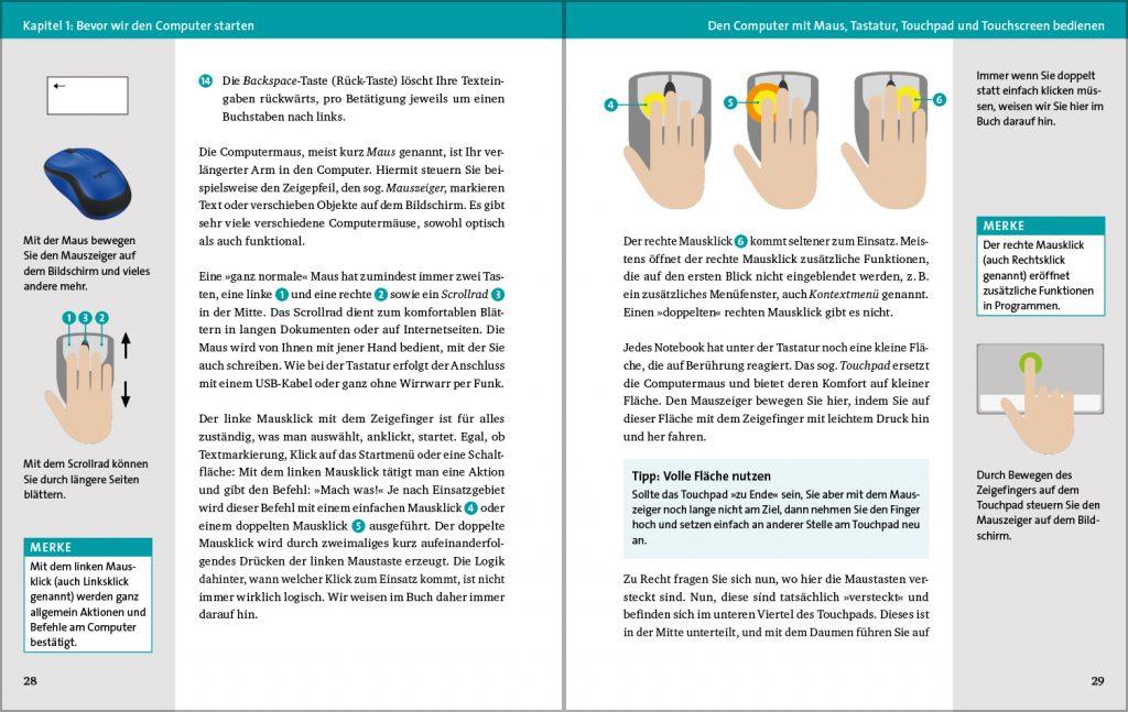 Ein toller Ratgber, der einfach Schritt für Schritt den nächsten Step veranschaulicht. Bildquelle: Vierfarben Verlag