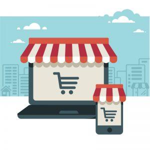 Auch online im Internet einkaufen kann enorm zur Lebensqualität beitragen, wenn man selbst vielleicht nicht mehr so gut zu Fuß ist. Bildquelle: shutterstock.com