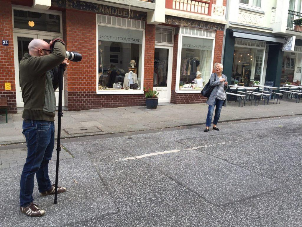 Die Youtuberin und Bloggerin Greta Silver bei einem Fotoshooting. Bildquelle: Agentur elbmodels Hamburg