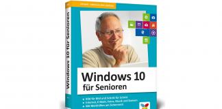 Gut erklärt, anschaulich dargestellt und immer mit einem zwinkernden Auge ist der Ratgeber Windows 10 für Senioren aufgebaut. Bildquelle: Vierfarben Verlag