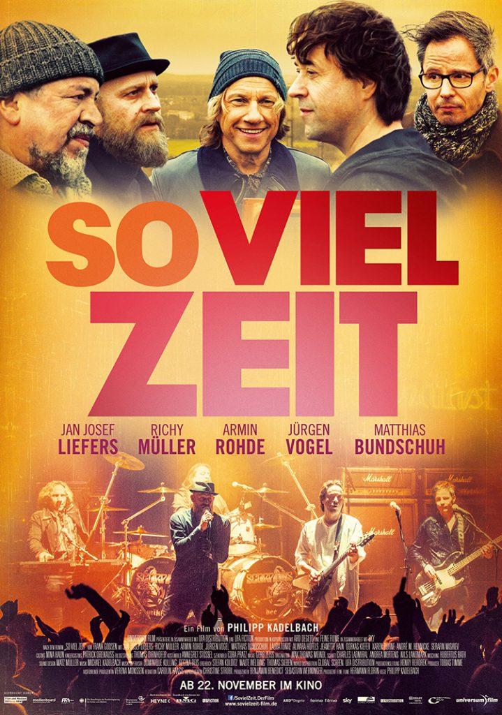 SO VIEL ZEIT: Hauptplakat.Quelle: © 2012 UNIVERSUM FILM GMBH