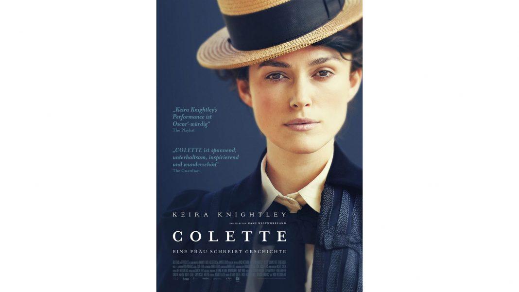 Keira Knightley verkörpert in Colette die junge Schriftstellerin Sidonie-Gabrielle Colette. Bildquelle: © DCM