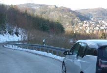 """""""Abenteuer E-Auto"""" Teil 2. Umweltfreundlich unterwegs zu sein birgt so manche Herausforderung, vor allem bei kalten Temperaturen. Bildquelle: Martin Beier"""
