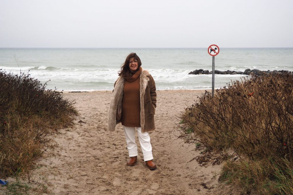 Das Meer, die Weite und eine innere Reinigung - das gönnt sich Gabriele immerschön an der Ostsee. Bildquelle: © Gabriele immerschön.de