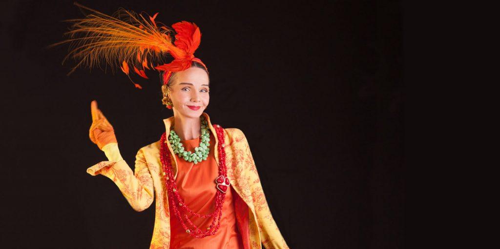 Stil ist keine Frage des Geldes. Britt Kanja liebt Second Hand Mode. Bildquelle: © Camilla Lobo