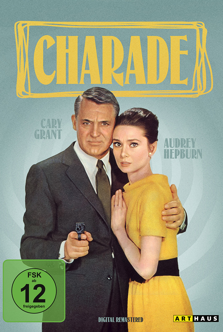 Audrey Hepburn und Cary Gant in CHARADE. Quelle: studiocanal home entertainment