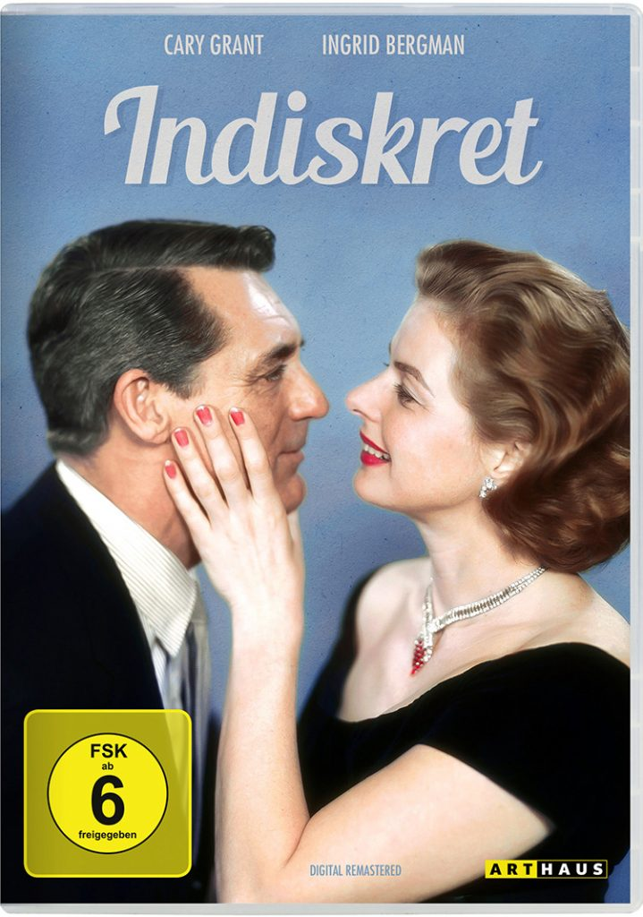 Ingrid Bergman und Cary Gant in INDISKRET. Quelle: studiocanal home entertainment