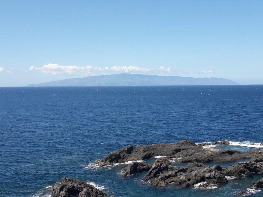 Der Blick vom Dialysezentrum auf Teneriffa lääst die eigentliche Erkrankung für einen Augenblick vergessen. Bildquelle: Herr Cleve