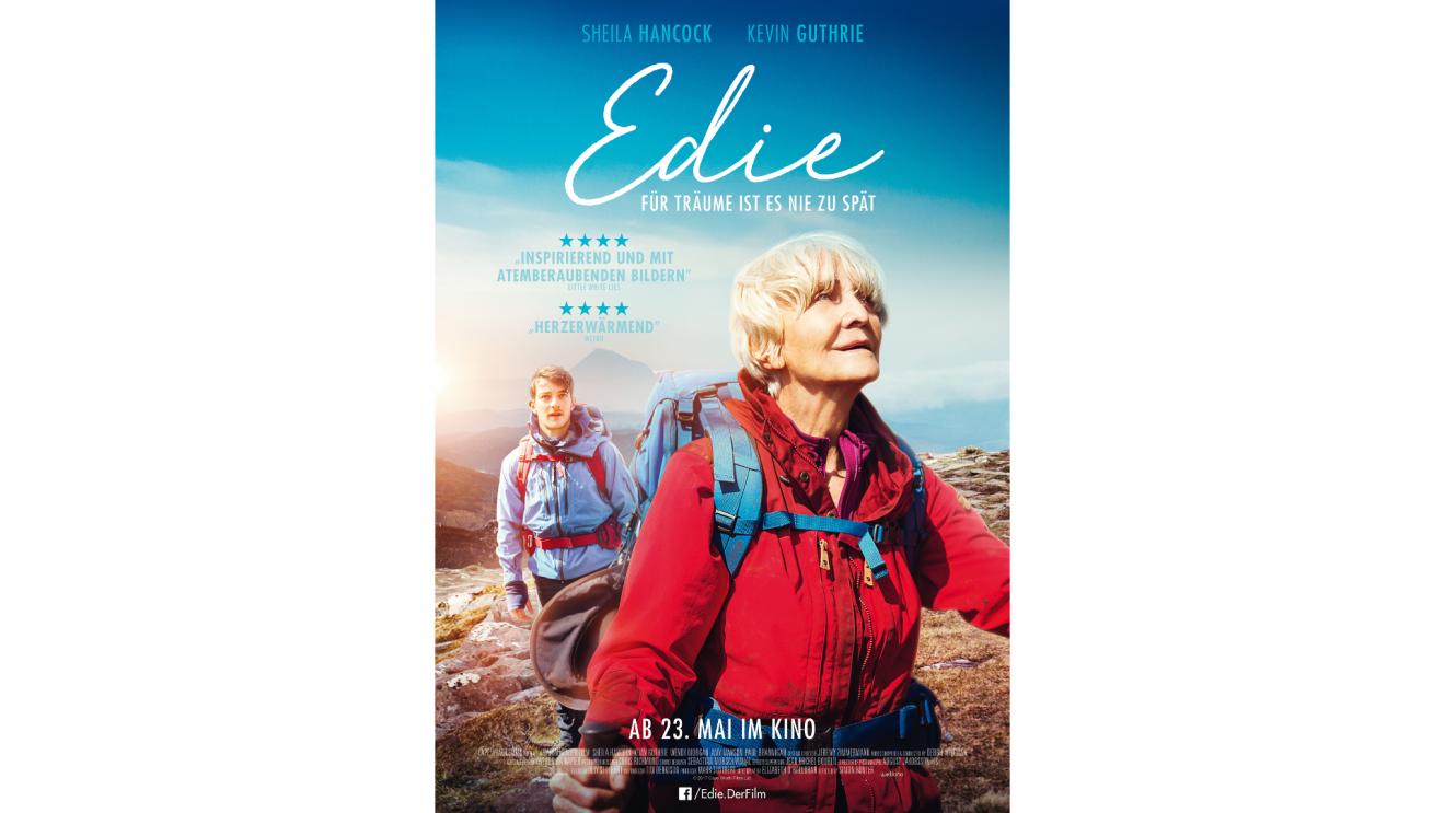 Gewinnen Sie einen Wanderführer zum Kinostart von Edie