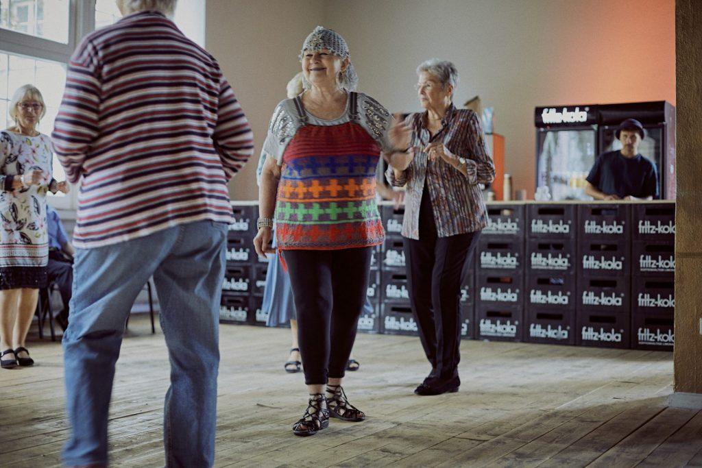 Gut gestärkt wurde dann die Tanzfläche erobert. Bildquelle: © 59plus GmbH