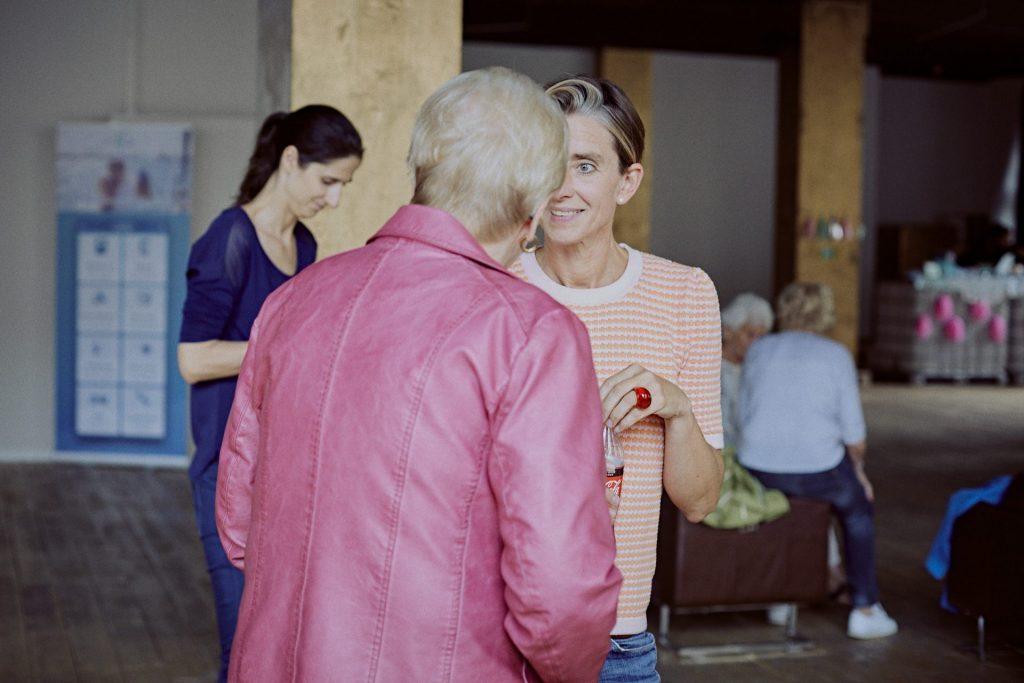 Der Austausch mit den Besuchern war uns natürlich auch ganz wichtig. Bildquelle: © 59plus GmbH