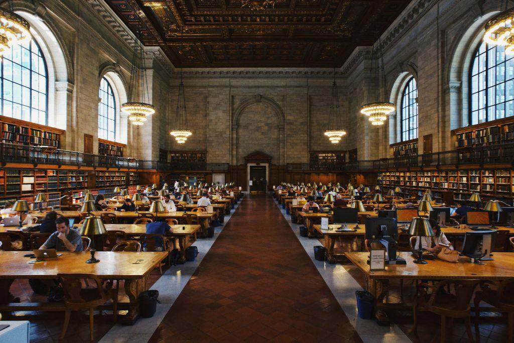 Auf einmal wird die Unibibliothek ein regelmäßiger Treffpunkt. Bildquelle: © Robert Bye / Unsplash.com
